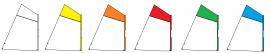Voile compatible optimist fourreau Dacron 170g